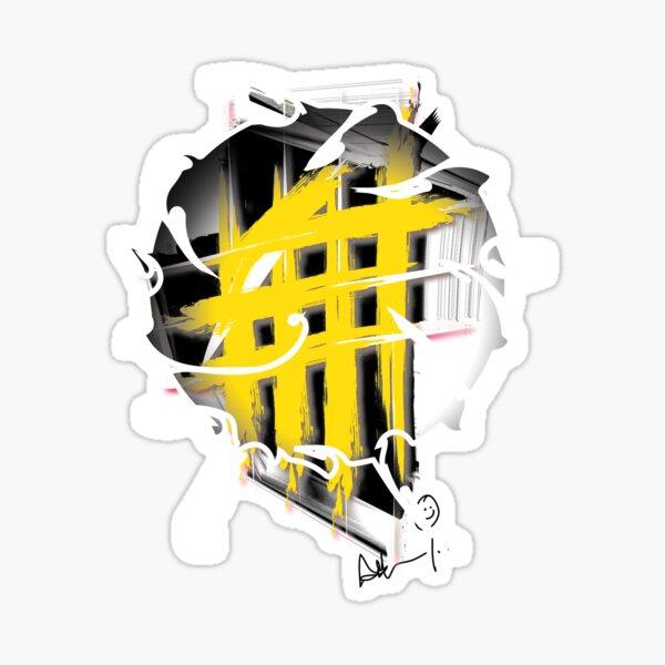 Hashtag Series 3 Yellow Sticker