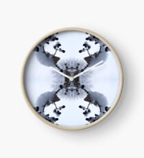 Snow Bow #1 Clock
