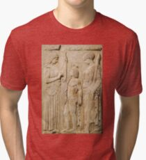 Persephone and Demeter - goddess of agricultural abundance Tri-blend T-Shirt