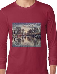 Clouds on the Lake Long Sleeve T-Shirt