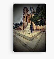 Just like in gothic times... Canvas Print