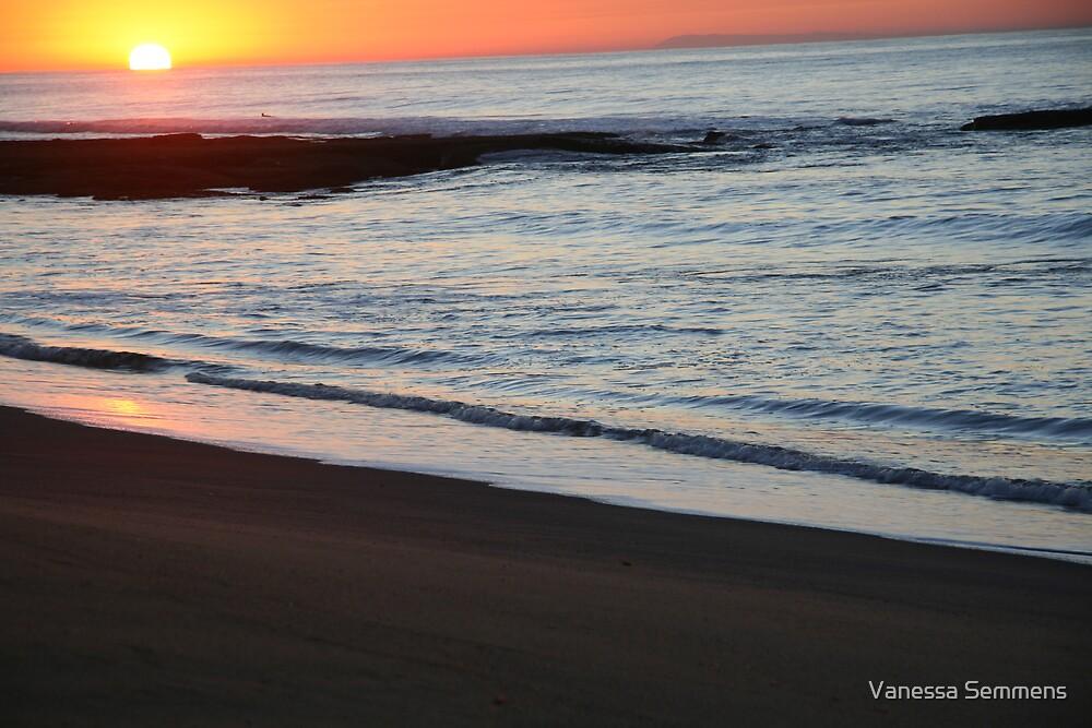 Bells Beach at Sunrise by Vanessa Semmens