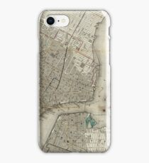 Antique Map New York City | Globetrotter iPhone Case/Skin