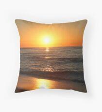 Sunrise at Bells Beach Throw Pillow
