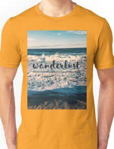 Wanderlust - Crashing Waves Unisex T-Shirt