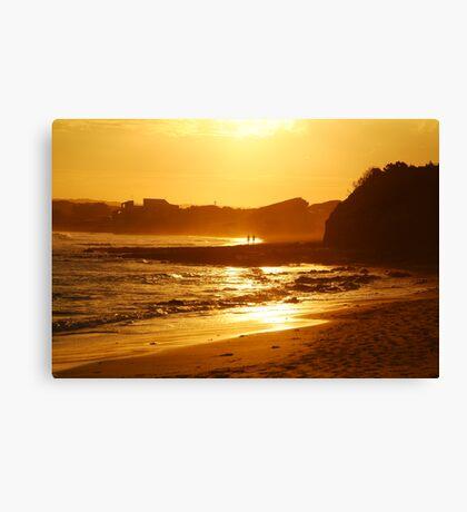 Sunset, Torquay Surf Beach,Great Ocean Road Canvas Print