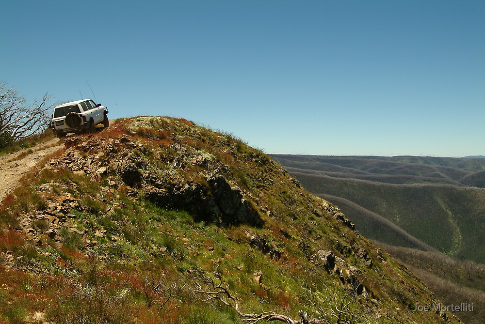 Perched,Blue Rag Range,Victorian High Country by Joe Mortelliti