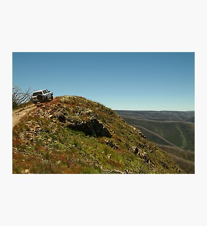 Perched,Blue Rag Range,Victorian High Country Photographic Print