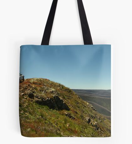 Perched,Blue Rag Range,Victorian High Country Tote Bag