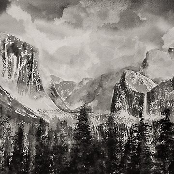 Yosemite Park in Winter by MikePaget