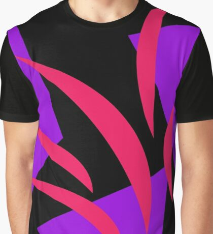 Hot Pink and Purple by Julie Everhart Graphic T-Shirt