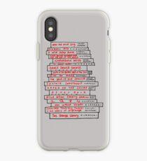 Haruki Murakami Book Fan iPhone Case