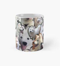 Samoyed Collage (cloudthesamoyed)  Mug