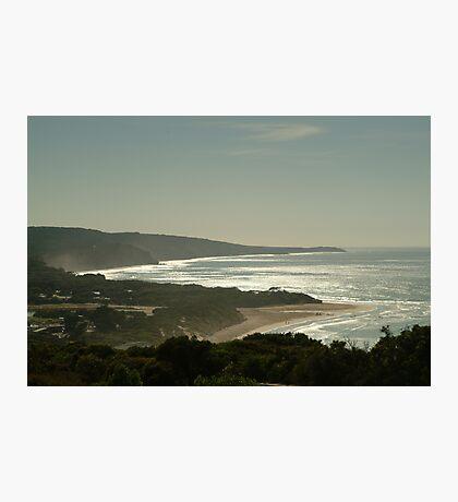 Harsh Light Anglesea,Great Ocean Road Photographic Print