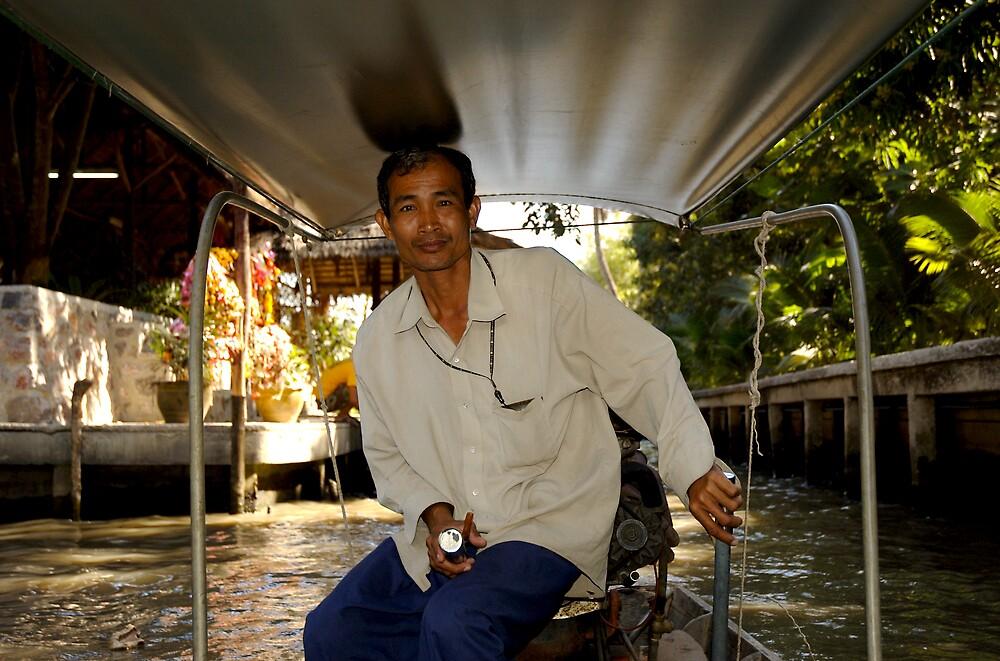 boat driver by kenan