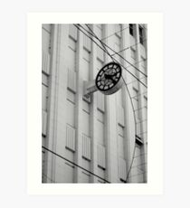 myer time Art Print