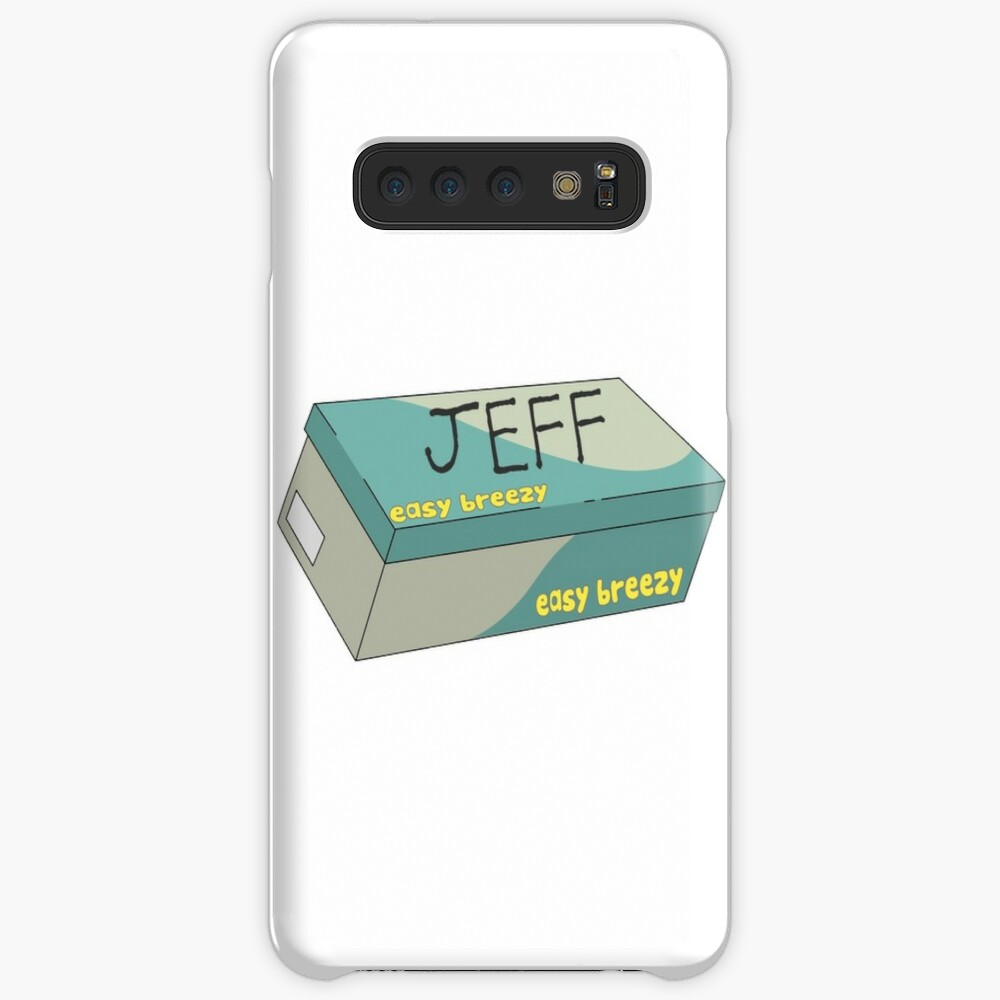 Jeff the Ghost Case & Skin for Samsung Galaxy