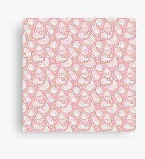 Food Lace Canvas Print