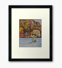 Dittisham Ferry Framed Print