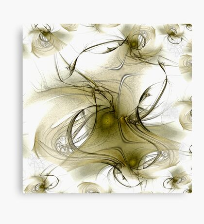 dreaming. dancing. floating. Canvas Print