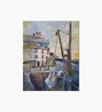 Brixham Overgang Steps Art Board