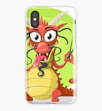 Funny chinese dragon iPhone Case/Skin