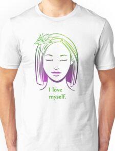 Affirmations- I Love Myself. Unisex T-Shirt