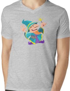 Funny wizard Mens V-Neck T-Shirt