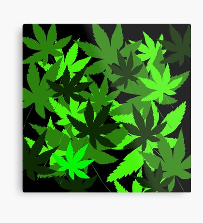 Leafy by Julie Everhart Metal Print