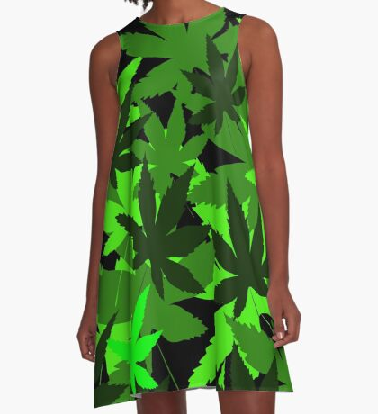 Leafy by Julie Everhart A-Line Dress