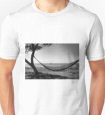 Hammock On A Desolate Santa Marta Beach T-Shirt