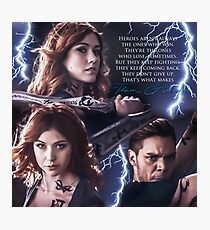 Clace - opening season 2 Photographic Print