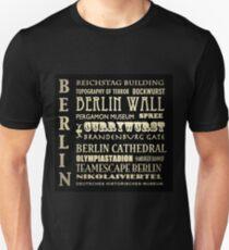 Berlin Germany Famous Landmarks T-Shirt