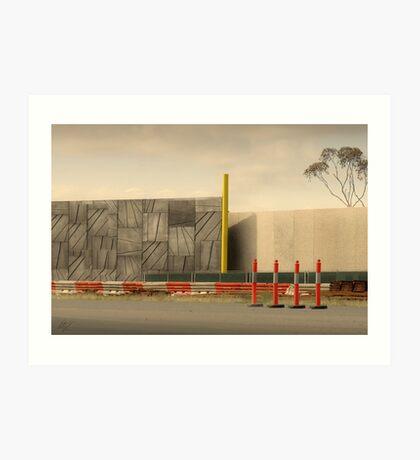 Freeway 2:3 Art Print