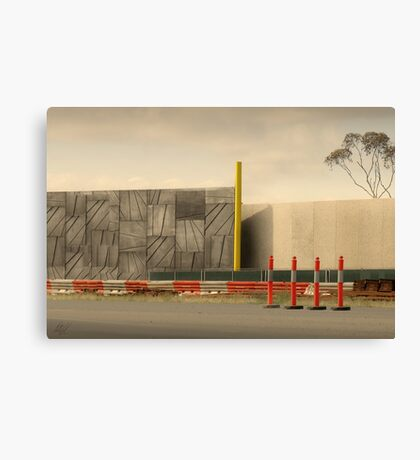 Freeway 2:3 Canvas Print