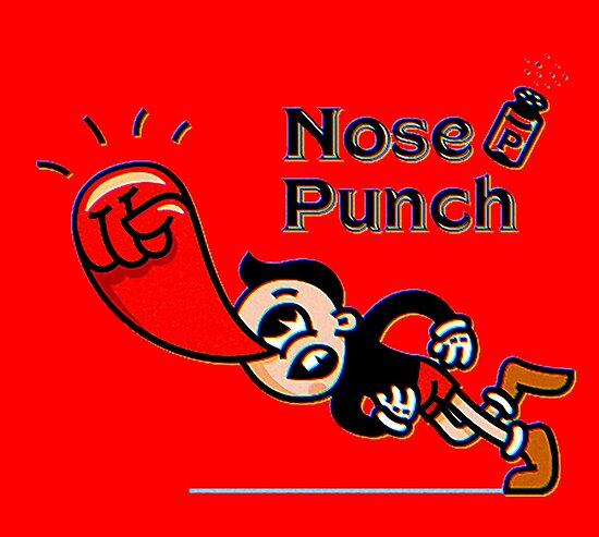 big nose punch by peoplegonnawar