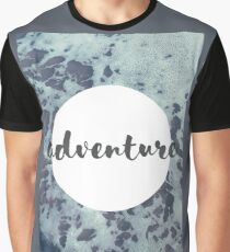 Adventure - Sea Foam Graphic T-Shirt