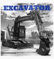 EXCAVATOR Poster