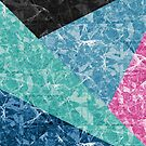 Marble Geometric Background G427 by MEDUSA GraphicART