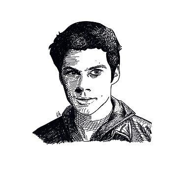 Dylan o'Brien fan art / Stiles Stilinski / Thomas TMR by DMJADESIGN
