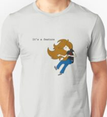 "Vinesauce Joel ""It's a Feature"" Unisex T-Shirt"