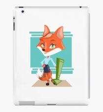 Business female fox iPad Case/Skin