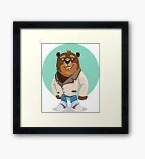 Teen bear Framed Print