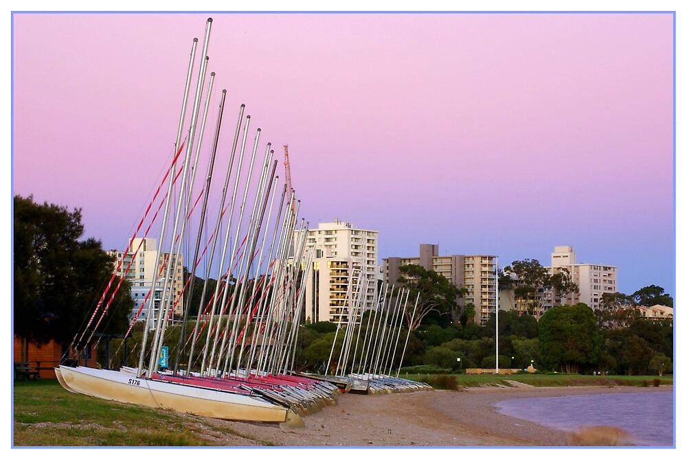 South Perth At Dawn by Elana Halvorson