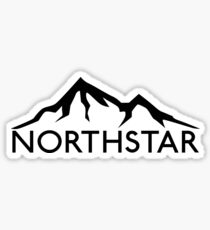 SKIING NORTHSTAR CALIFORNIA SKI SNOWBOARDING SKIER MOUNTAINS Sticker