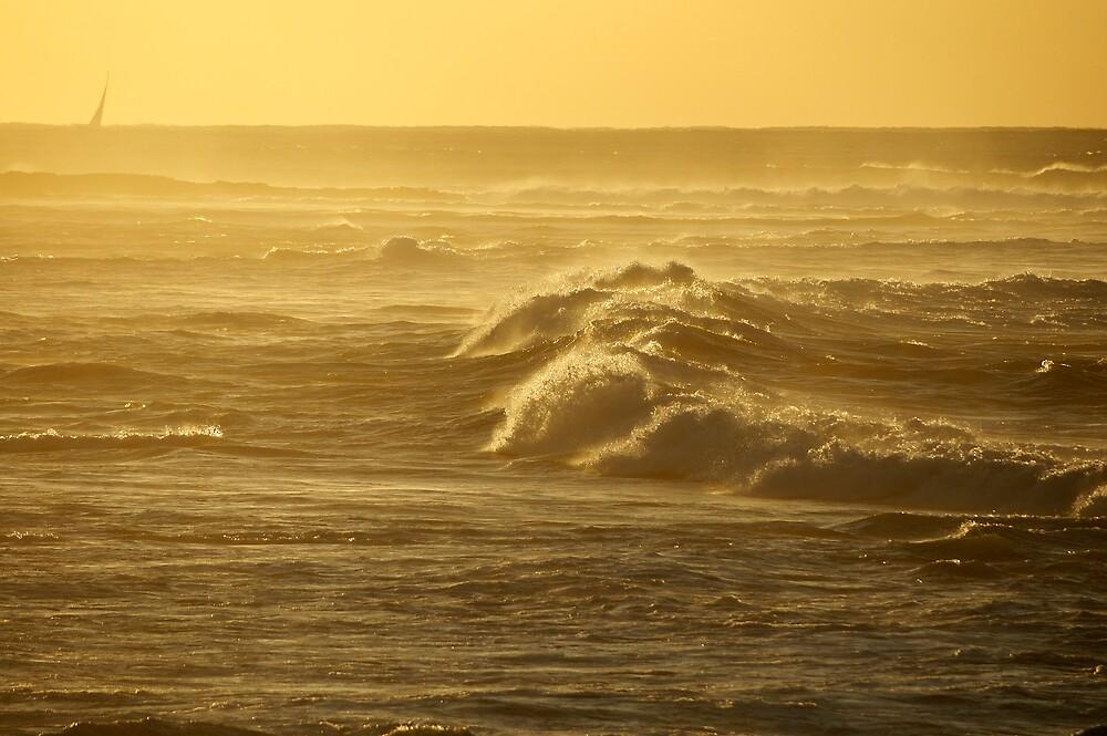 Big seas by Geoffrey Chang