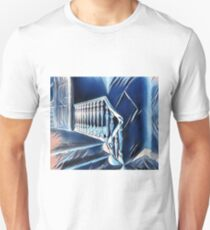 Eerie Paranormal Staircase T-Shirt