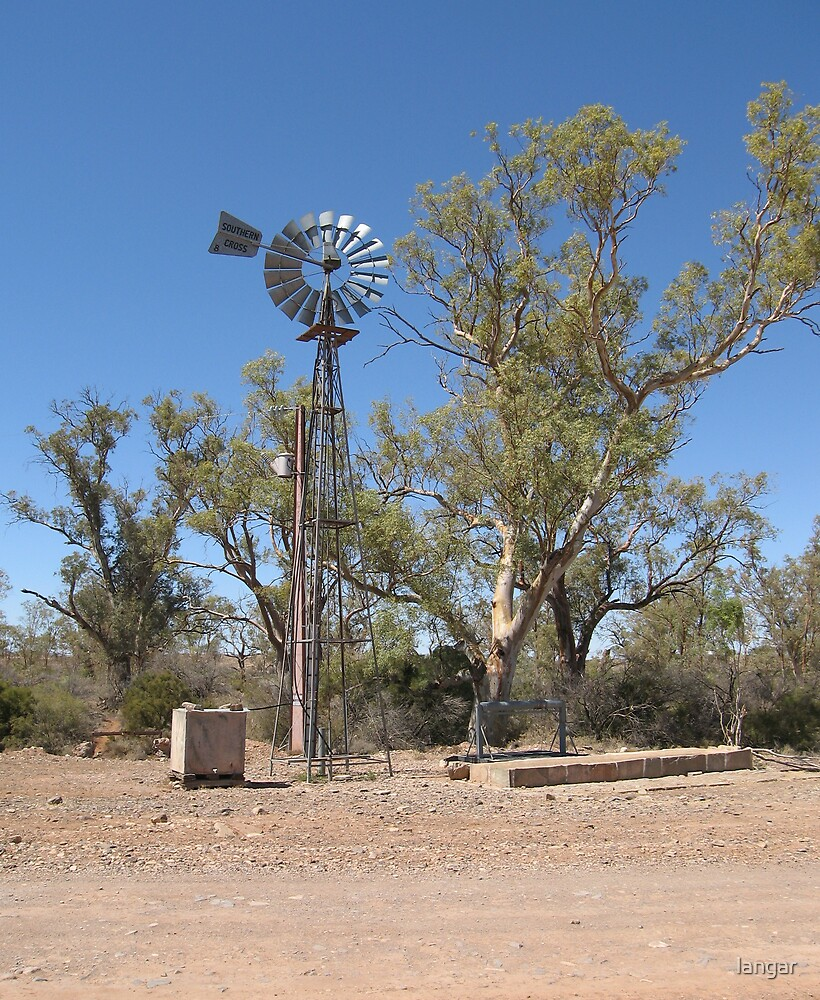 Windmill  Old Beltana  Flinders Ranges by langar