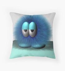 hairball 01 Throw Pillow