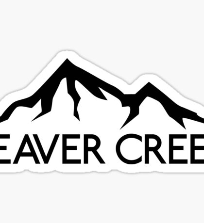 SKI BEAVER CREEK COLORADO SKIING EAGLE COUNTY SNOWBOARD HIKING CLIMBING BIKING 3 Sticker